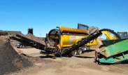 Keestrack Mobile Drum Screen - Tracked D7