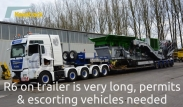 Keestrack R6 dolly system for full mobility