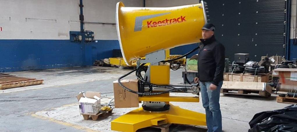 W7 dust suppression cannon