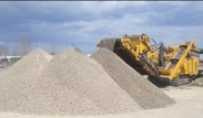 Keestrack R3 impact crusher, quarry in Canada