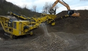 Keestrack B3 Argo Jaw crusher and K4 screen