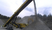 Keestrack S5 mobile tracked Stacker 10-23