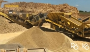 Keestrack R6 impact crusher and  K6 Frontier screen