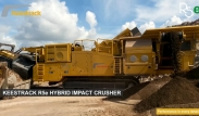 R5e the hybrid midrange mobile tracked impact crusher from Keestrack