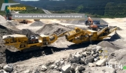 Keestrack B4 Apollo jaw crusher and H4 cone crusher in quarry application in Spain