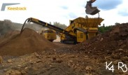 Keestrack K4 screen and R3 impact crusher in perfect combination